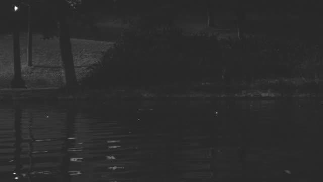 MS PAN Shot of boats in lake