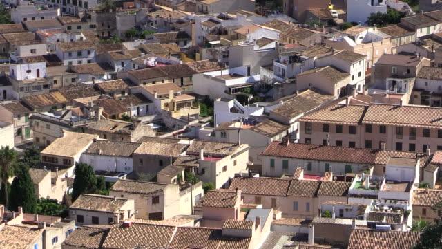 MS Shot of Capdepera village / Mallorca, Spain