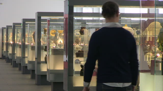 MS Shot of ceramics museum Villeroy und Boch / Mettlach, Saarland, Germany