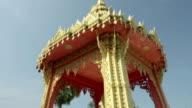TD Shot of Chedi of Wat Na Phra Lan temple