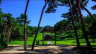 Shot of Danjongbi's grave in Sareung of Joseon Royal Tombs (Korea Historic Place 209, UNESCO World Heritage Sites)