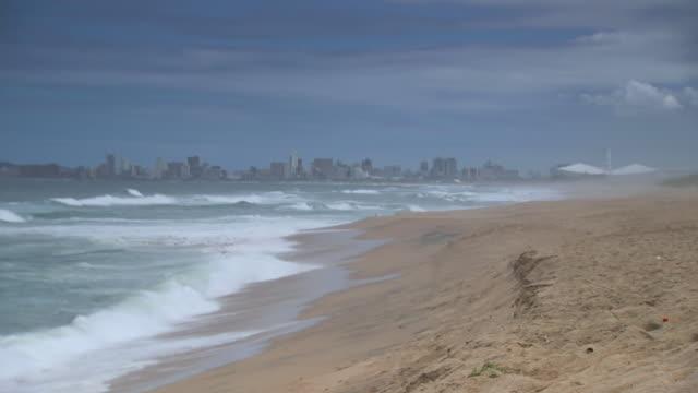 WS Shot of Durbanå«s Golden Mile / South Africa