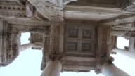 MS POV Shot of Ephesus, ancient ruins / Selcuk, Efes, Turkey