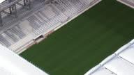 MS AERIAL Shot of Estadio de Baixada Stadium / Parana, Brazil