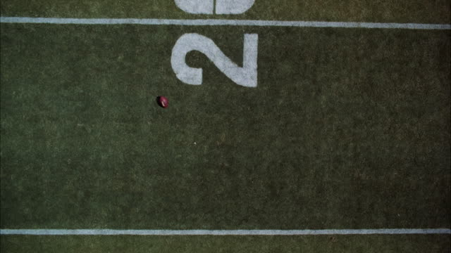MS Shot of football game on football field / Unspecified