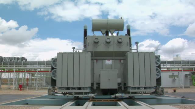 MS Shot of generator of at electricity plant / Villaseca de la Sagra, Toledo, Spain