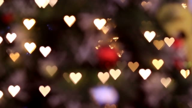 MS Shot of Heart bokeh / Seoul, South Korea