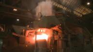 MS Shot of Inductive heating furnace / Juenkerath, Rhineland-Palatinate, Germany