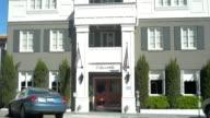 MS Shot of Mason 140 Hotel Beverly Hills / Beverly Hills, California, United States