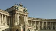 MS Shot of Michaelerplatz / Vienna, Austria