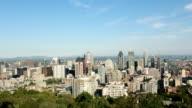 Scatto di Montreal Downtown in estate