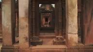 CU TD Shot of Oldest temple / Angkor, Cambodia