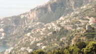 WS ZI Shot of Province Of Salerno / Amalfi, Campania, Italy