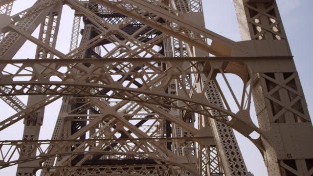 MS POV Shot of Queensborough Bridge / New York, United States