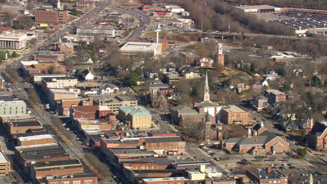 Rome (GA) United States  city photos : Ms Aerial Shot Of Rome City Georgia United States Stock Footage Video ...
