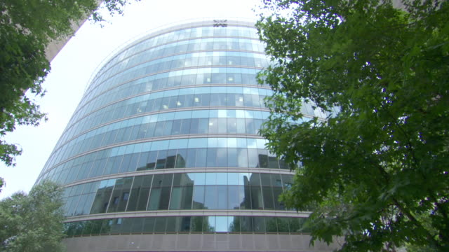 MS TU Shot of Securities building / Gauteng, South Africa