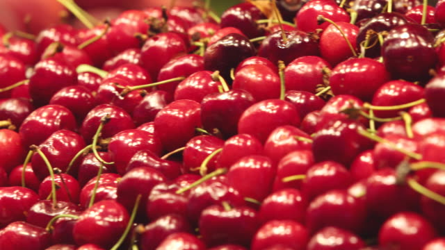 CU PAN Shot of sweet Cherry / Seoul, South Korea