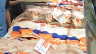 CU T/L Shot of Sydney Fishmarkets / Sydney, Pyrmont New South Wales, Australia