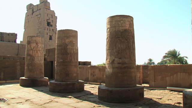 MS Shot of Temple of Kom Ombo / Aswan, Egypt