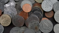 Shot of Thai coin currency with close up
