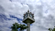 Shot of the clock tower at the Han-River park