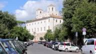 MS Shot of Villa Medici / Roma, Italy