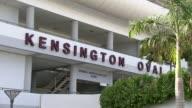 MS Shot outside of Kensington Oval stadium / Bridgetown Barbados
