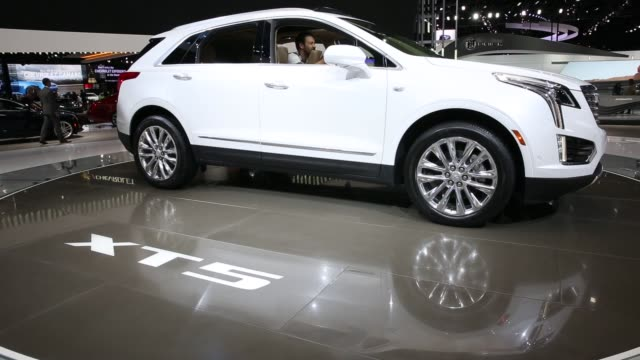 Shots focus on the Cadillac section of the Los Angeles Auto Show held at the Los Angeles Convention Center in Los Angeles California on November 19th...