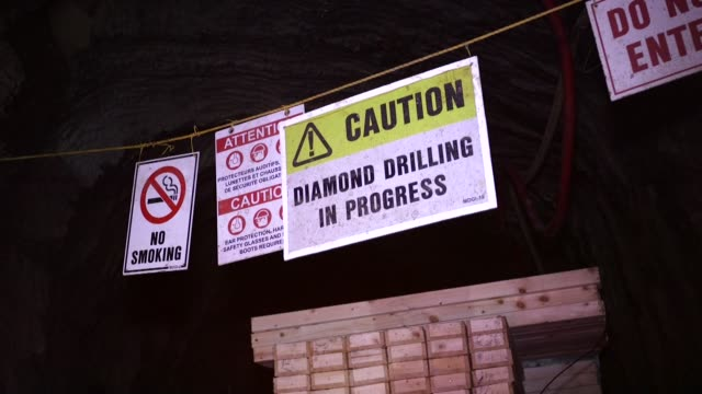 Shots of inside the Curraghinalt gold project operated by Dalradian Resources Inc near Omagh Northern Ireland on Wednesday July 9 2015 Shots shot of...