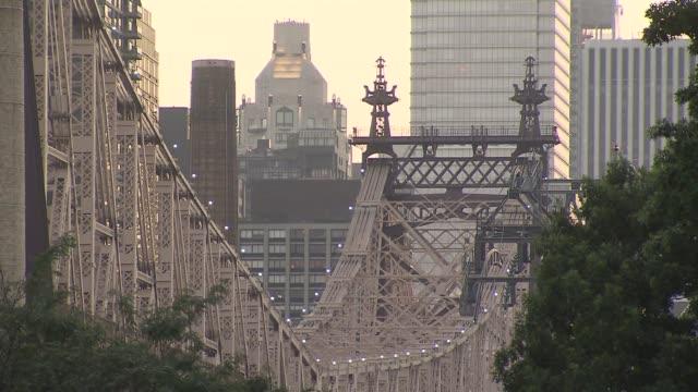 Shots of the Queensboro Bridge on June 07 2013 in New York NY