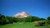 Showa-Shinzan dome in Hokkaido, Japan