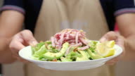 Showing Avocado Ham Salad