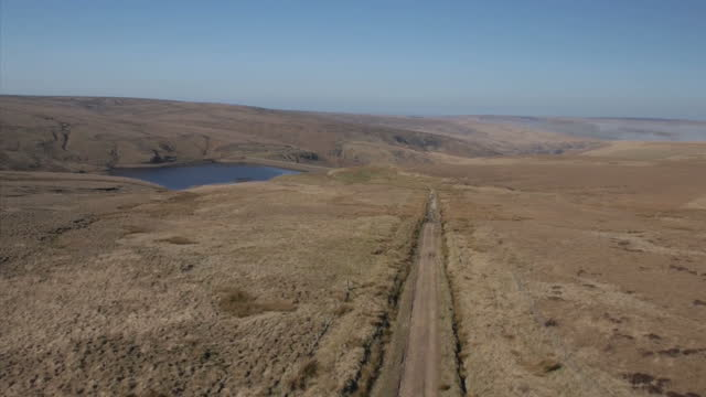 Shows aerial shots across Saddleworth Moor Ian Brady one of the most notorious criminals in British history has died at the age of 79 In crimes which...