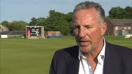 Shows exterior shot Interview with former England Cricketer Ian Botham on Alistair Cook becoming first English Cricketer to reach 10 000 runs on May...