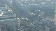 Shows exterior shots aerials Cabinet Offices on Whitehall pan out to Ministry Of Defence building on January 20 2015 in London England