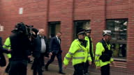 Shows exterior shots Everton Footballer Wayne Rooney departing from court Wayne Rooney has been banned from driving for two years and ordered to...