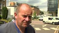 Shows exterior shots interview with Dr Malcolm Tunnicliff Clinical Director of Emergency and Acute Care at King's College Hospital speaking on...