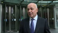 Shows exterior shots interview with former Conservative Leader Iain Duncan Smith speaking on possible tensions within the Cabinet QUOTE 'the old...
