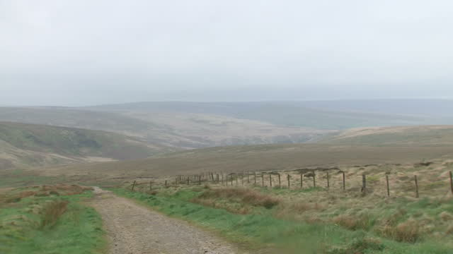 Shows exterior shots Saddleworth Moorwith cloudy skies Ian Brady one of the most notorious criminals in British history has died at the age of 79 In...