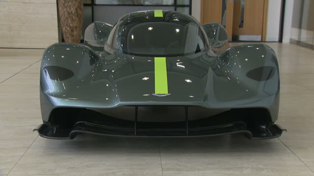 Shows interior shots Aston Martin Valkyrie in showroomPetrol and diesel cars will banned from sale by 2040 after the government announced plans to...