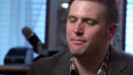 Shows interior shots interview soundbite with 'altright' and White Nationalist Leader Richard Spencer speaking on people protesting against him After...