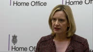 Shows interior shots interview soundbite with UK Home Secretary Amber Rudd speaking on outlawing of neoNazi group 'National Action' SHE SAYS...