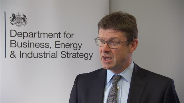 Shows interior shots interview soundbites with UK Business Secretary Greg Clark speaking on Bombardier Boeing trade dispute The special relationship...