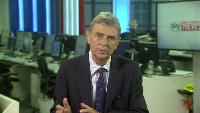 Shows interior shots interview with General Secretary of Unison Dave Prentis speakign on employment tribunal fees court case QUOTE 'For me it wasn't...