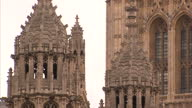 Shows Westminster village Parliement Big Ben House Of Commons Tourists in London Whitehall Interviews with Jonathan Isaby Taxpayers Alliance David...