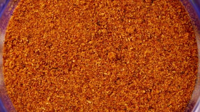 - dried orange Pfeffer. Essen Hintergrund