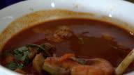 Garnelen Suppe, eines der Top Ten-Thai-Gerichte