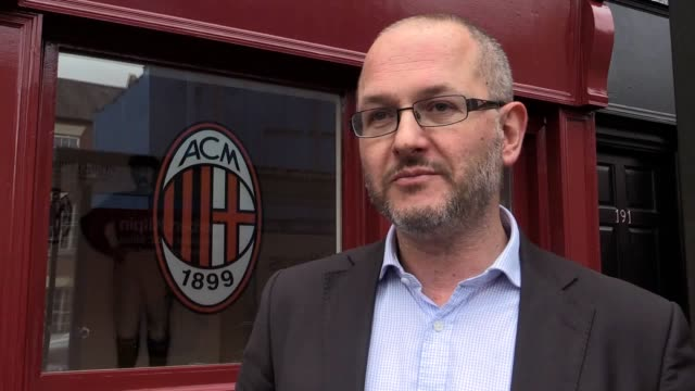 A shrine has been created at the childhood home of Nottingham expat Herbert Kilpin who founded European football giants AC Milan and was revered as...