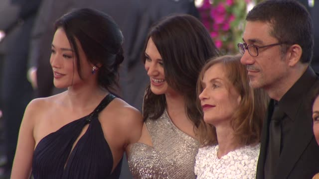 Shu Qi Asia Argento and Isabelle Huppert at the Cannes Film Festival 2009 Closing Steps Coco Chanel Igor Stravinsky at Cannes