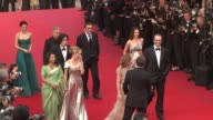 Shu Qi Asia Argento James Gray Isabelle Huppert Robin Wright Penn Sharmila Tagore Lee Chang Dong Nuri Bilge Ceylan and Hanif Kureishi at the Cannes...